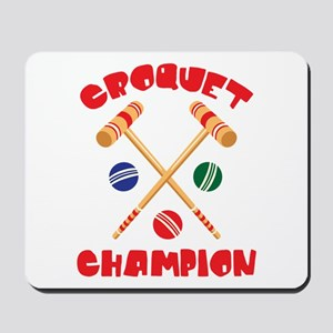 CROQUET CHAMPION Mousepad