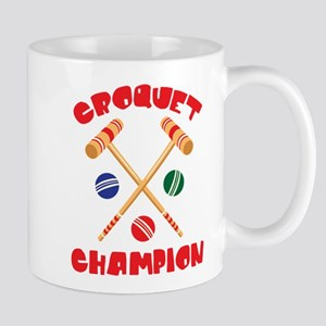 CROQUET CHAMPION Mugs