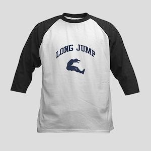 Long Jump Kids Baseball Jersey