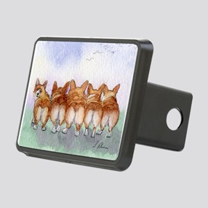 Five Corgi butts Hitch Cover