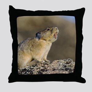 Hitting the High Note! Throw Pillow