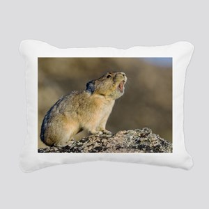 Hitting the High Note! Rectangular Canvas Pillow