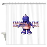 Embrace the USA Shower Curtain