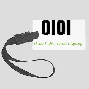 OlOl Signature Logo Large Luggage Tag