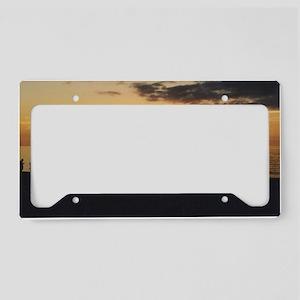Marco Island, Florida Sunset License Plate Holder