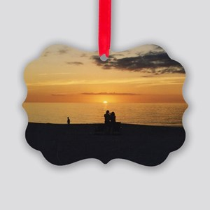 Marco Island, Florida Sunset Picture Ornament