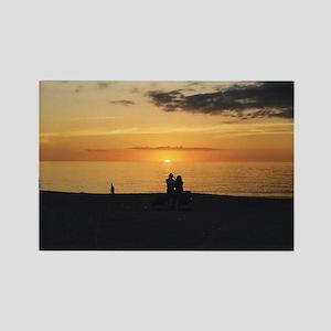Marco Island, Florida Sunset Rectangle Magnet