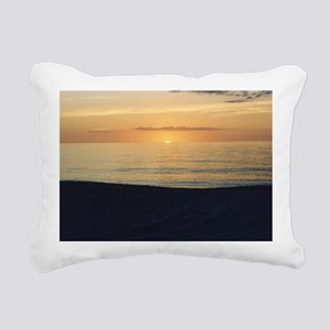 Marco Island, FL - Sunse Rectangular Canvas Pillow