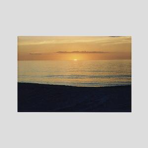 Marco Island, FL - Sunset Rectangle Magnet
