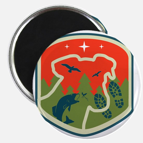 Porch Dog Shield Logo Magnet