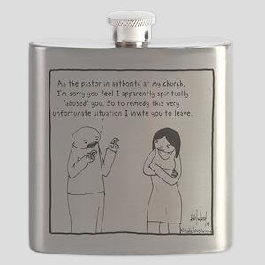 Abusive Apology Flask