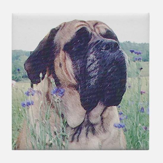 Unique Mastiff hope Tile Coaster