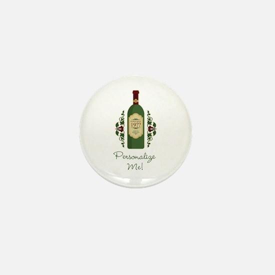 Customizable Birthday Mini Button