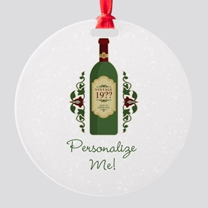 Customizable Birthday Ornament