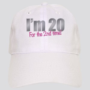 20 2nd Time 40th Birthday Baseball Cap