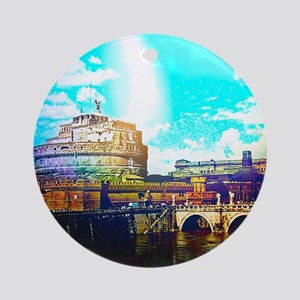 Rom/Rome effect Ornament (Round)