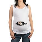Baseball Baby Maternity Tank Top