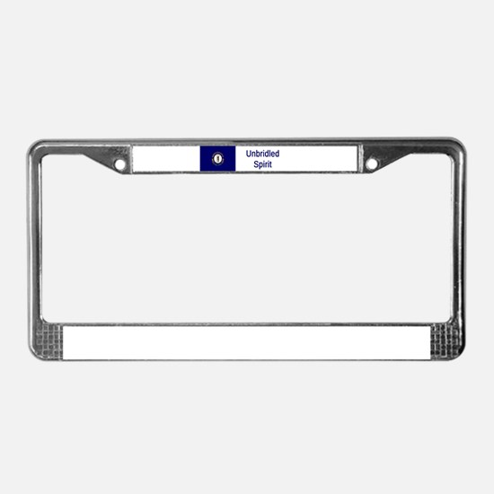 Kentucky Motto #2 License Plate Frame