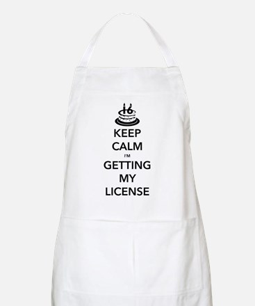 Keep Calm Sweet 16 Apron