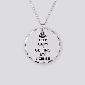 Keep Calm Sweet 16 Necklace Circle Charm