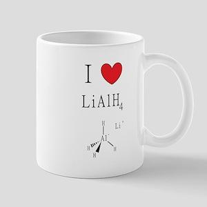 I Heart (icon) Lithium Aluminum Hydride Mugs