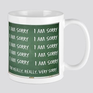 'I'm Sorry' Chalk Board Mug