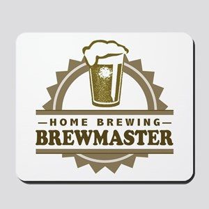 Brewmaster Home Beer Brewer Mousepad