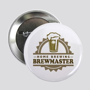 """Brewmaster Home Beer Brewer 2.25"""" Button"""