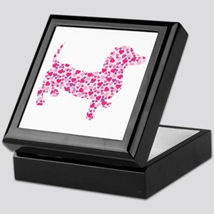 Doxie Hearts Keepsake Box