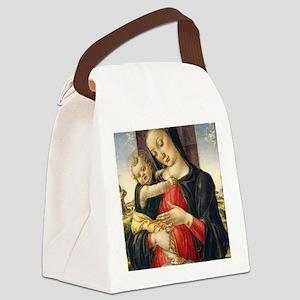 Bartolomeo Vivarini - Madonna and Canvas Lunch Bag
