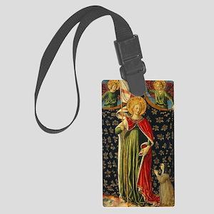 Benozzo Gozzoli - Saint Ursula w Large Luggage Tag