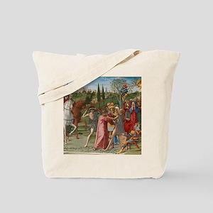 Benvenuto di Giovanni - Christ Carrying t Tote Bag
