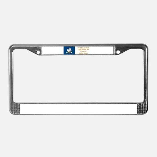Louisiana Humor #1 License Plate Frame