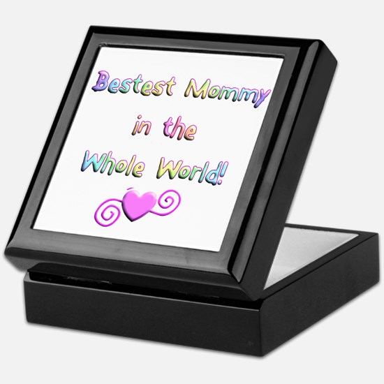 Bestest Mommy Keepsake Box