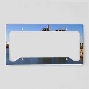 Power Station License Plate Holder