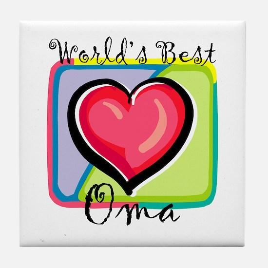 WB Grandma [Dutch] Tile Coaster