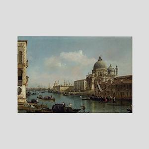 Bernardo Bellotto - View of the G Rectangle Magnet