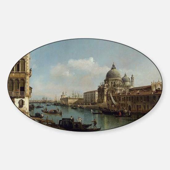Bernardo Bellotto - View of the Gra Sticker (Oval)