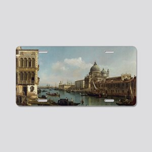 Bernardo Bellotto - View of Aluminum License Plate