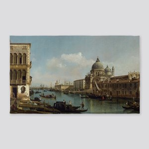 Bernardo Bellotto - View of the Gra 3'x5' Area Rug