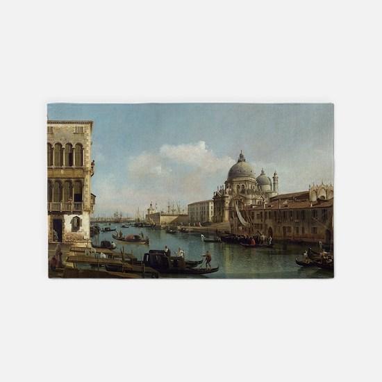 Bernardo Bellotto - View of the Gra 3'x5' Area Rug