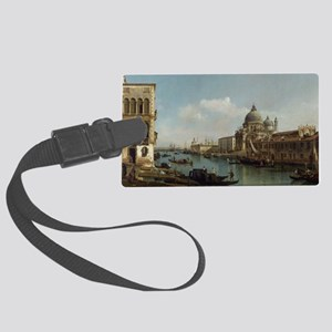 Bernardo Bellotto - View of the  Large Luggage Tag