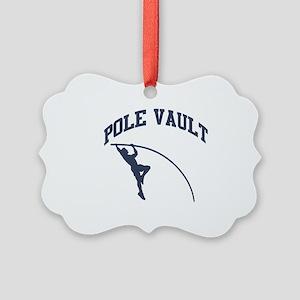 Pole Vault Picture Ornament