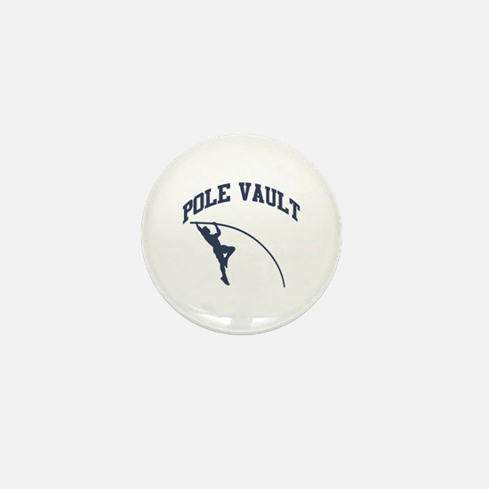 Pole Vault Mini Button