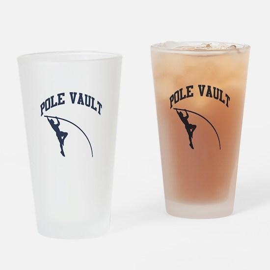 Pole Vault Drinking Glass