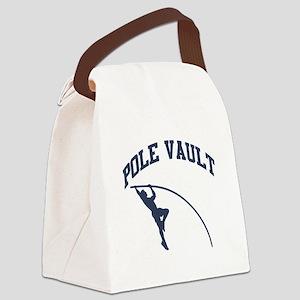 Pole Vault Canvas Lunch Bag