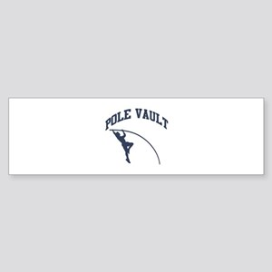 Pole Vault Sticker (Bumper)