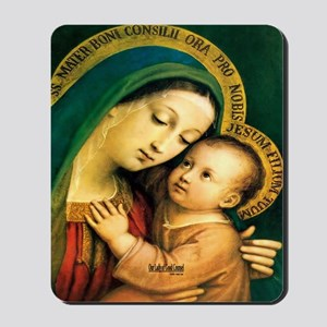 Our Lady of Good Counsel Mousepad