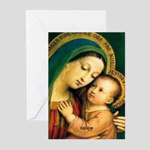 Our Lady of Good Counsel Greeting Cards (Pk of 10)