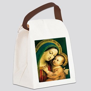 Our Lady of Good Counsel Canvas Lunch Bag